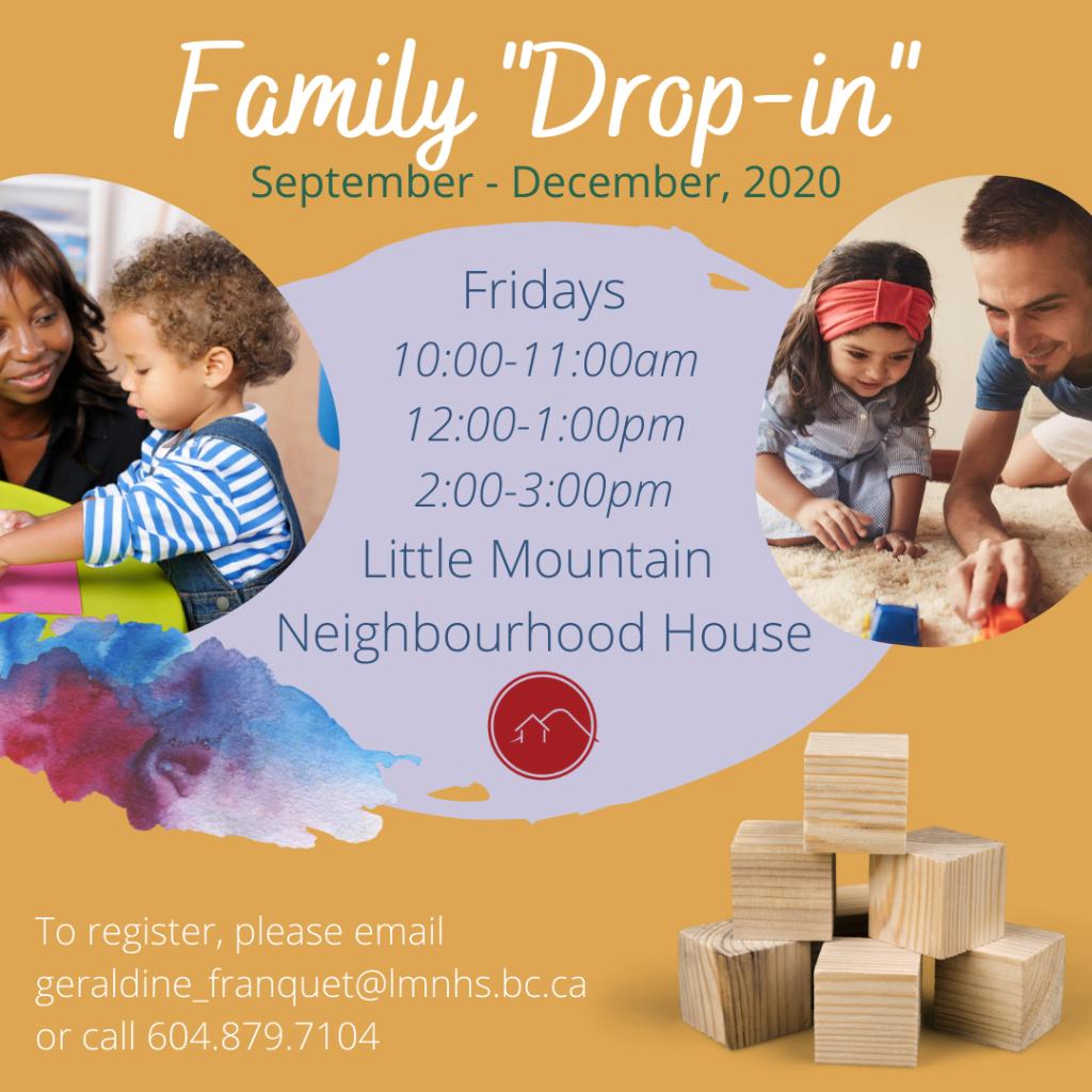 Family drop-in programs
