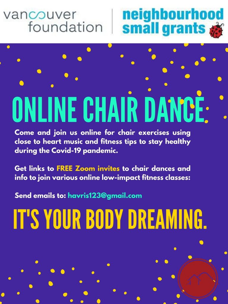 online chair dance