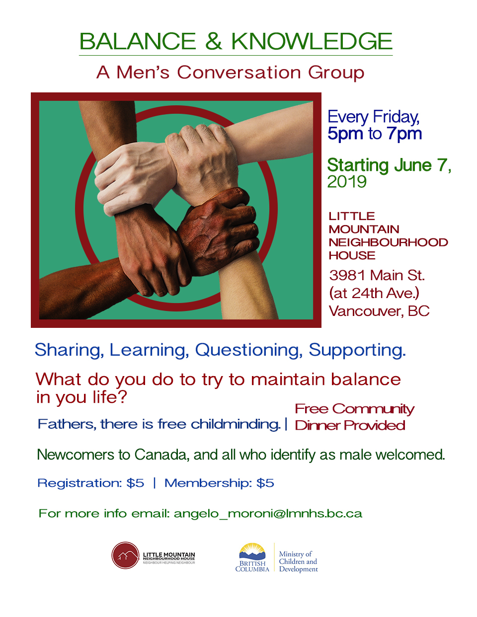 LMNH Men's Group Poster 2nd version