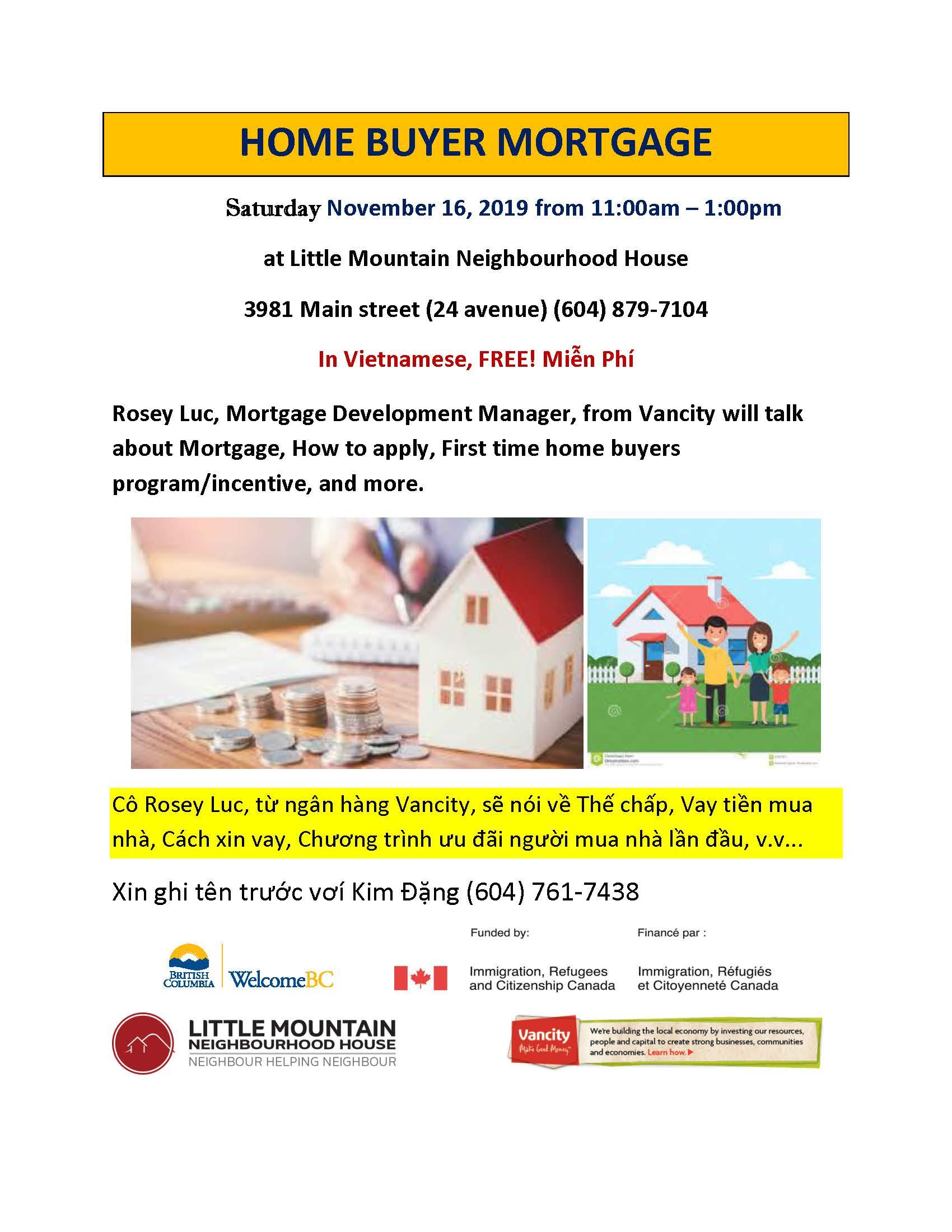 Homebuyers mortgage