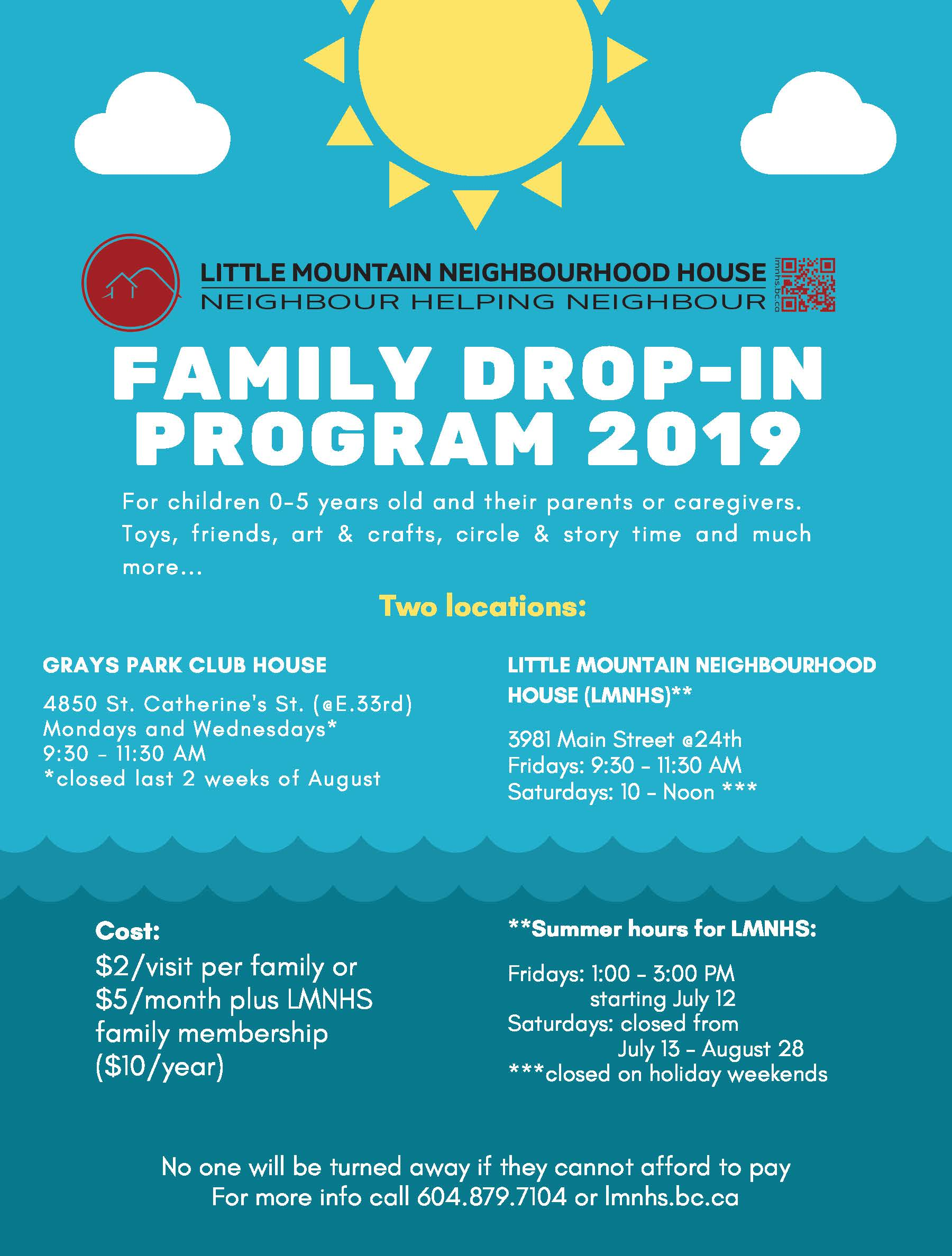family drop in final
